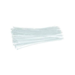 370mm CABLE TIES WHITE 1