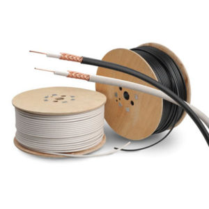 250m DRUM RG6 BROWN 1