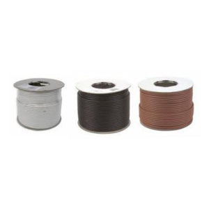 RG6 SATELLITE CABLE BROWN 100m 1
