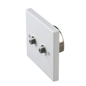 TWIN F FLUSH OUTLET 1
