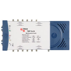 5 IN 24 OUT TRIAX MULTISWITCH WITH EARTH BARS 1