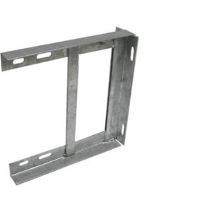 "12  WALL BRACKET GALVANISED"" 1"
